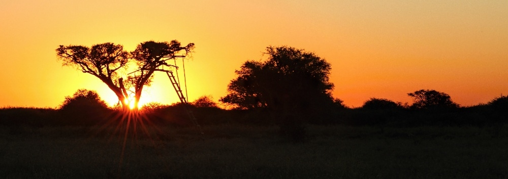 Magic African sunsets
